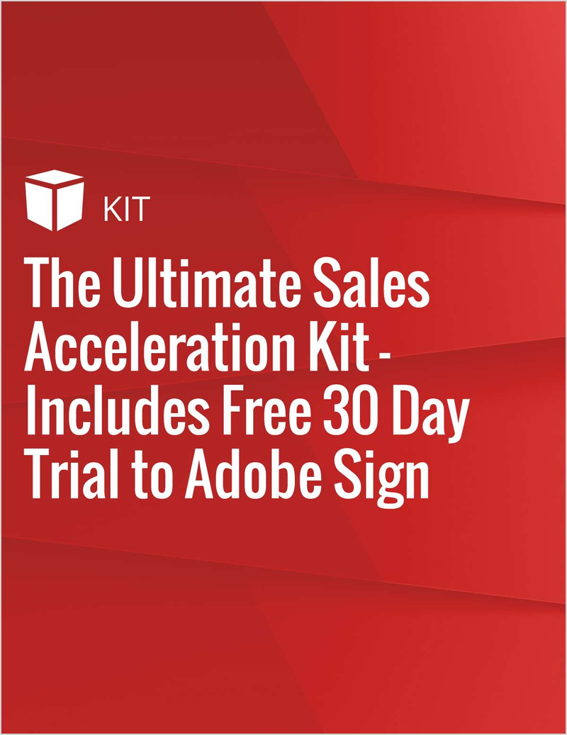 The Ultimate Sales Acceleration Kit - Includes Free 30 Day Trial to Adobe Sign Screenshot
