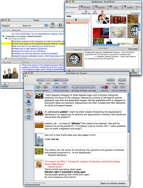 ThoughtOffice CEO Software Screenshot