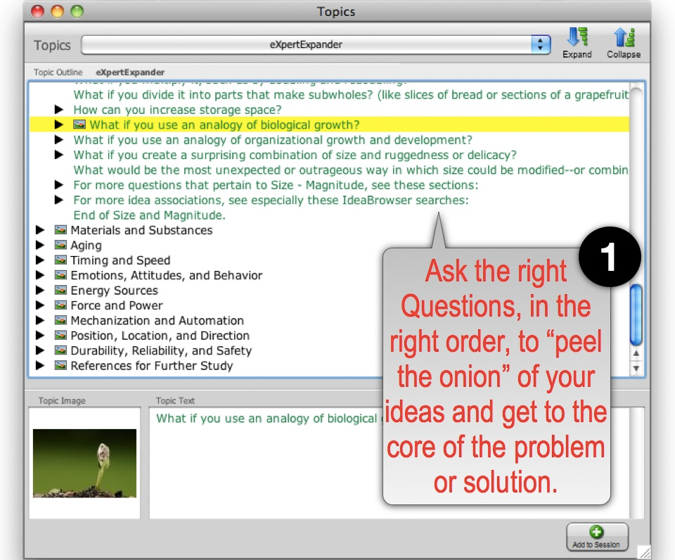 Business Mind Mapping Software Screenshot