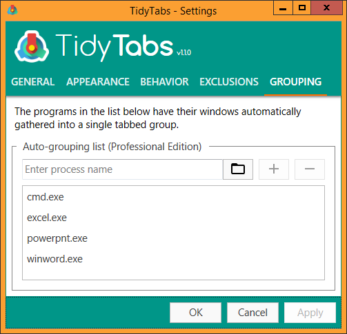 Tidytabs desktop enhancements software download for pc tidytabs screenshot desktop enhancements fandeluxe Images
