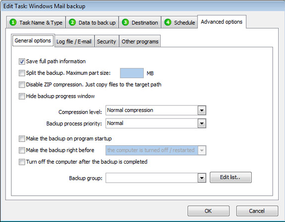 TK8 Backup Pro + Lifetime Upgrade Protection, Security Software, Access Restriction Software Screenshot