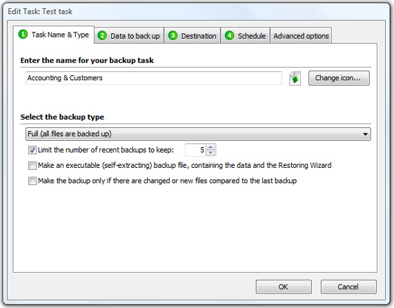 Access Restriction Software, TK8 Backup Pro + Lifetime Upgrade Protection Screenshot