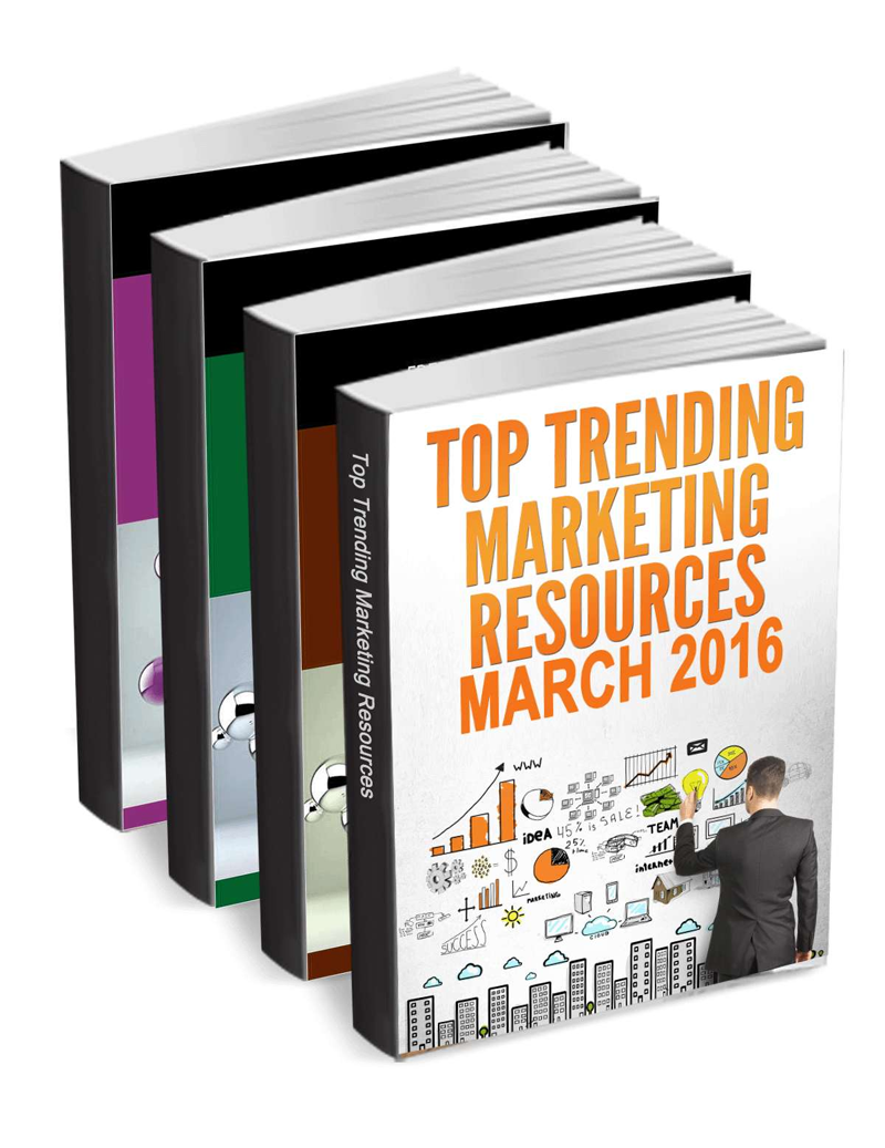 Top Trending Marketing Resources for March 2016 Screenshot