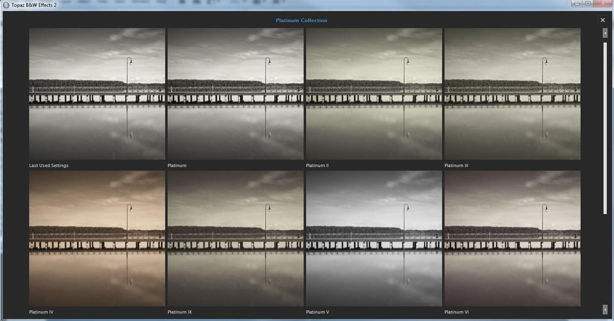 Design, Photo & Graphics Software, Topaz B&W Effects Screenshot