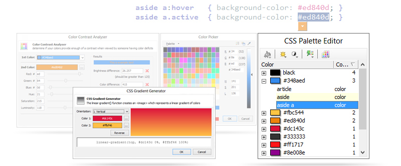 TopStyle 5, Code Editor Software Screenshot