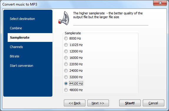 Total Audio Converter, Audio Conversion Software Screenshot
