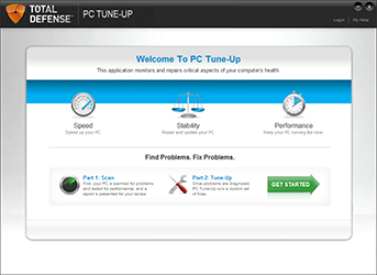 Total Defense Unlimited Internet Security Suite Screenshot