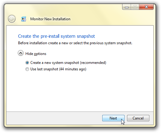 Software Utilities, Total Uninstall Screenshot