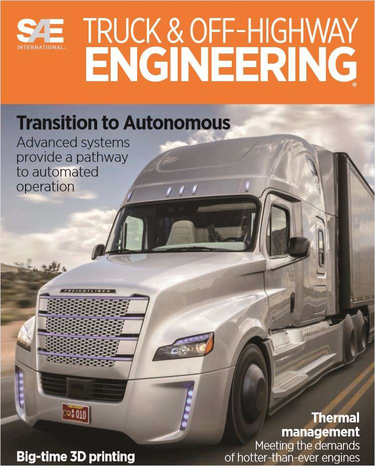Truck & Off-Highway Engineering Screenshot