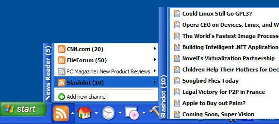 True Launch Bar, Desktop Customization Software, App Launcher Software Screenshot
