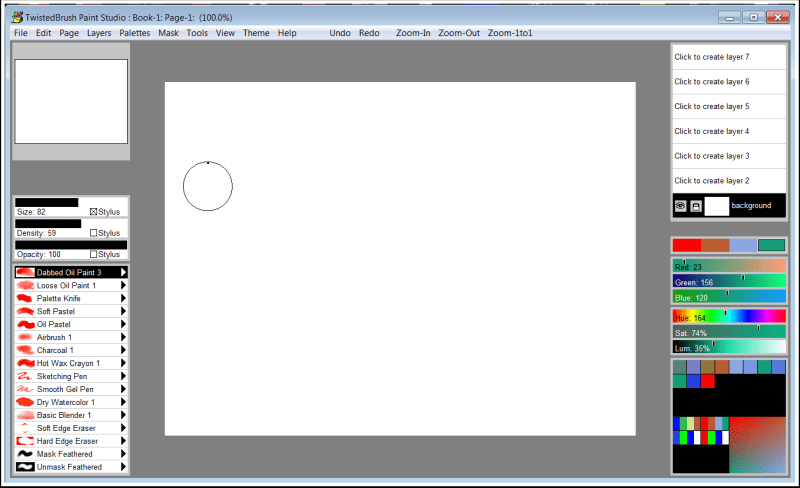 TwistedBrush Paint Studio, Design, Photo & Graphics Software Screenshot