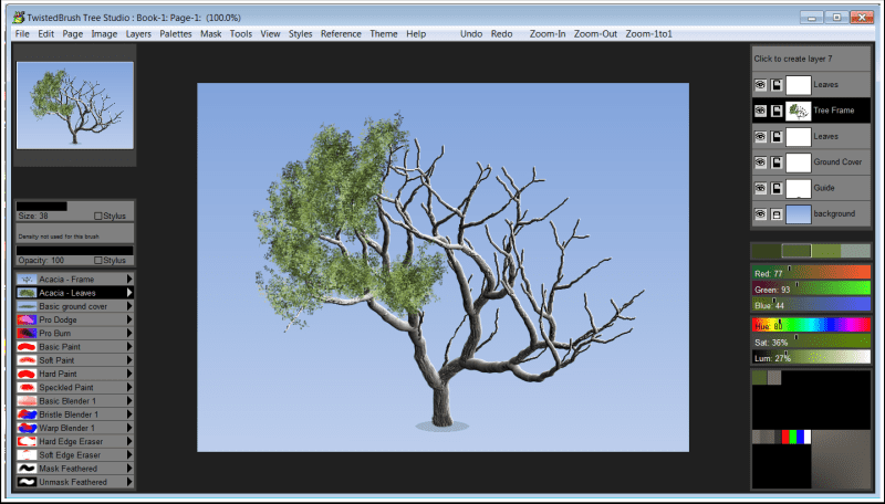Tree Studio Screenshot