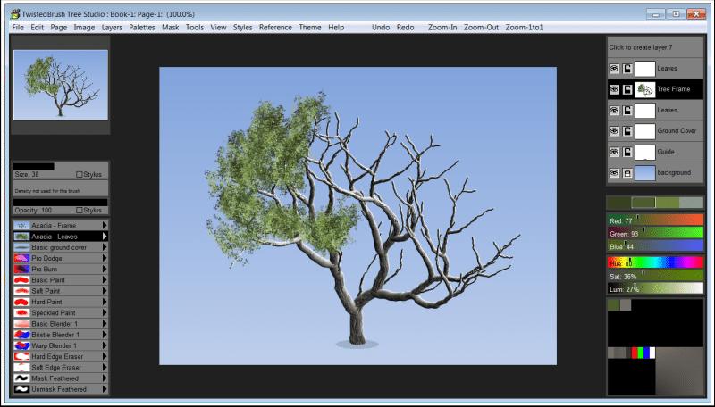 Tree Studio Screenshot