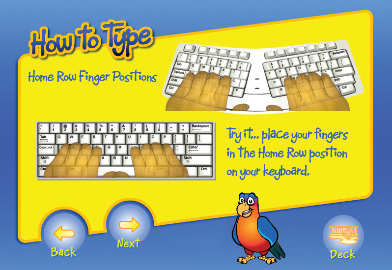Typing Instructor for Kids Platinum 5.0 Screenshot
