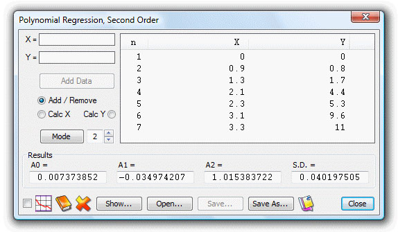 Calculator Software, UltimaCalc Professional v3 Screenshot