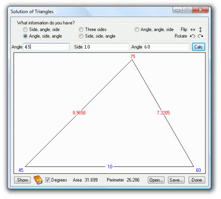 Productivity Software, UltimaCalc Professional v3 Screenshot