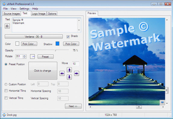 uMark Professional Screenshot