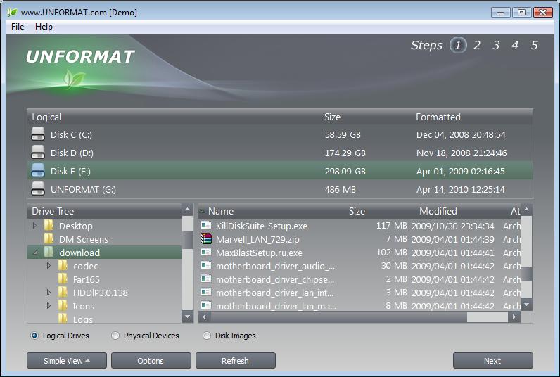 UNFORMAT - 还原被格式化了的磁盘数据[Windows][$29→0]丨反斗限免