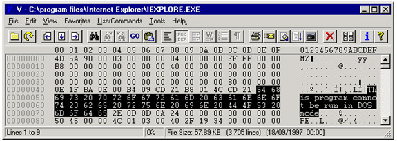 V - The File Viewer Screenshot 8