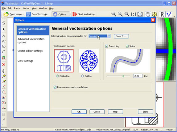 Vextractor Vector Drawing Software 50 Off Discount For Pc