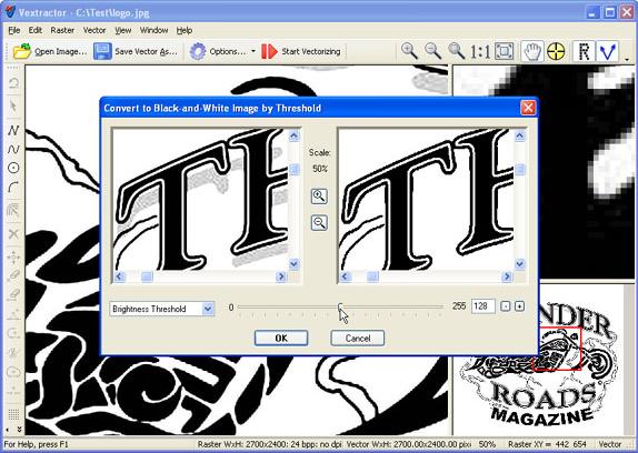 Design, Photo & Graphics Software, Vextractor Screenshot