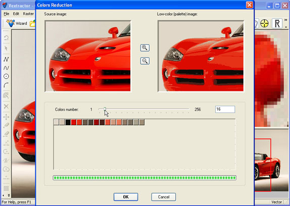 Vextractor Screenshot