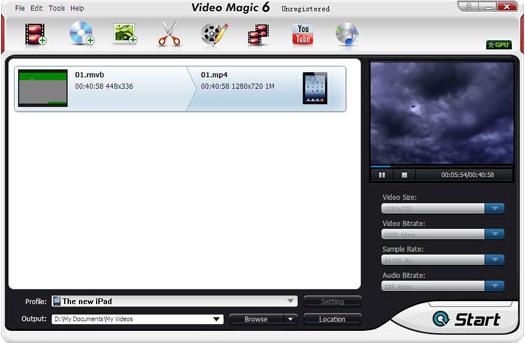 Video Magic Ultimate Screenshot