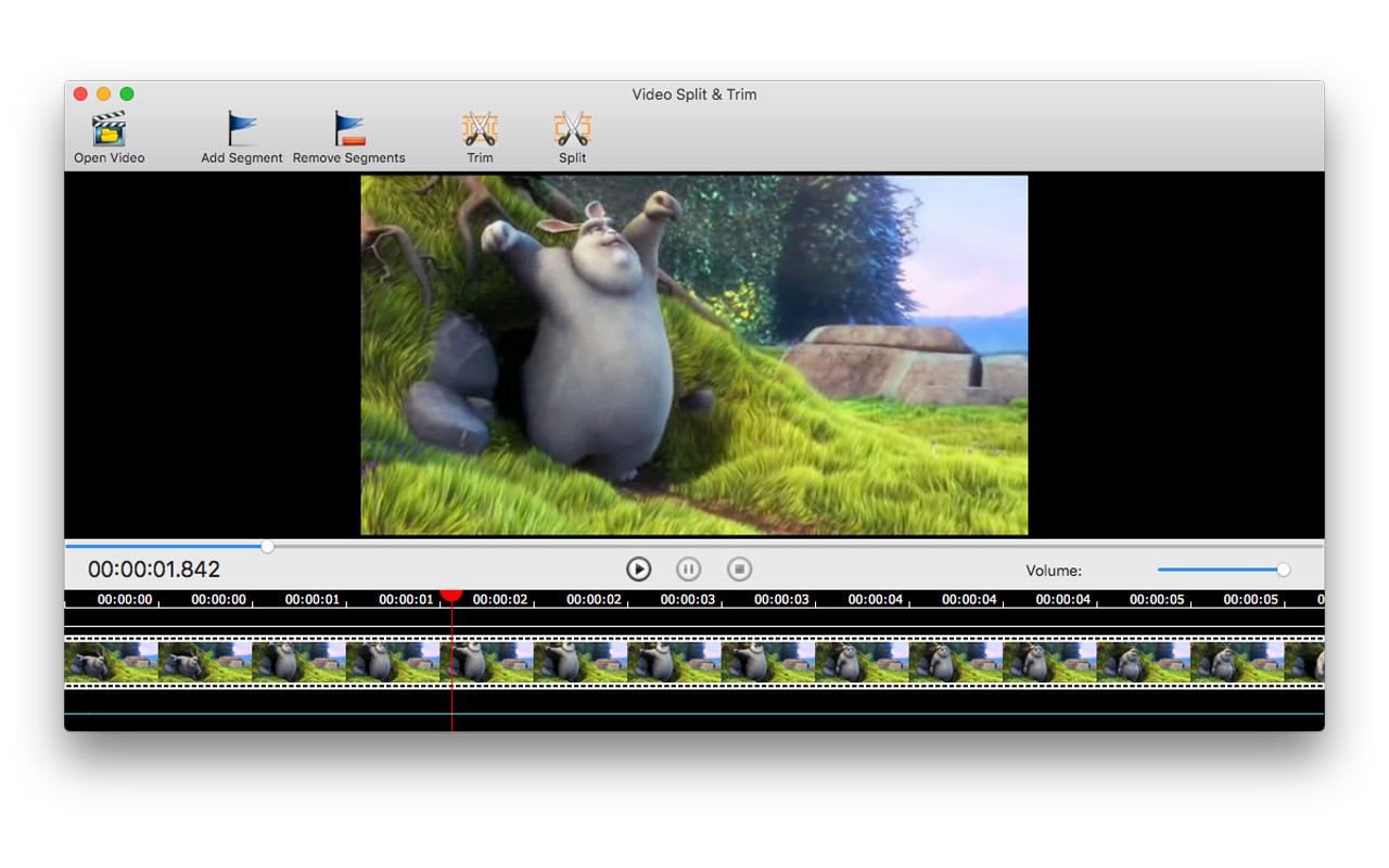 Video Split & Trim, Video Editing Software Screenshot