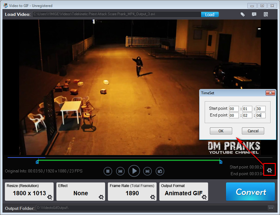 Video Software, Video to GIF Screenshot