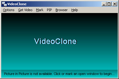 VideoClone, Video Player Software Screenshot