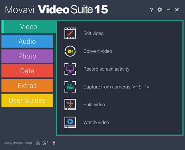 Video Suite Personal Screenshot