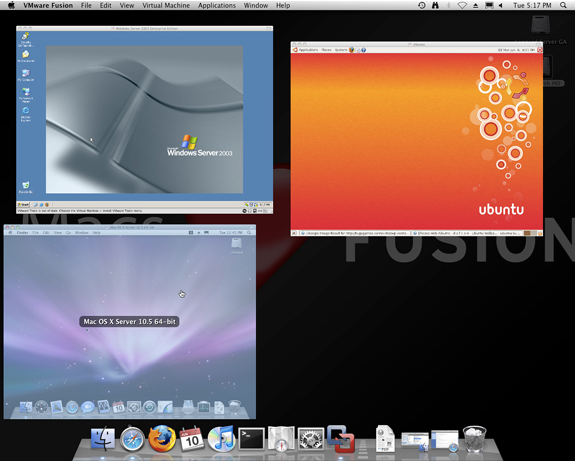 VMware Fusion Screenshot 8