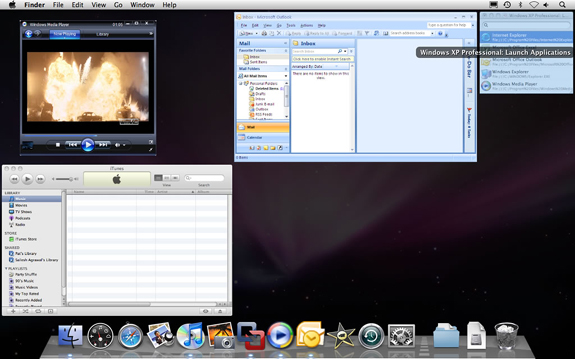 VMware Fusion Screenshot