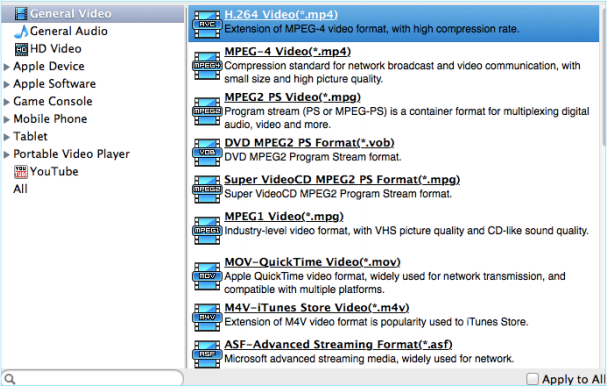 Voilabits DVDRipper for Mac, DVD Ripper Software Screenshot