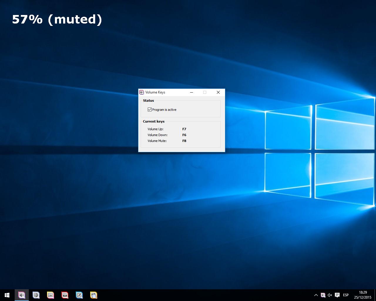 Volume Keys Screenshot