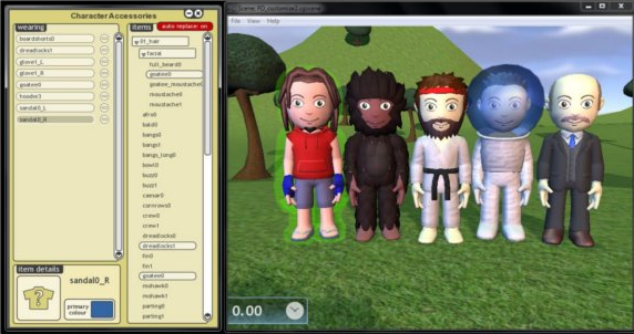 Animation Software Screenshot