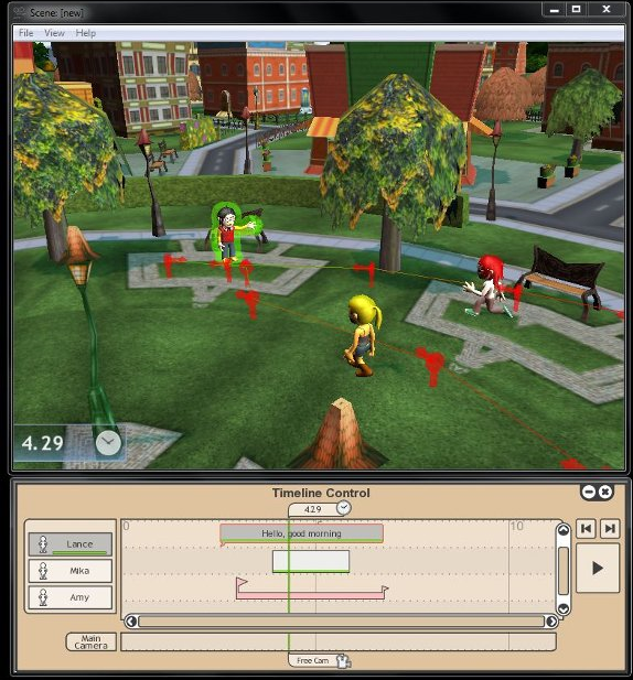 Voovees Director Screenshot