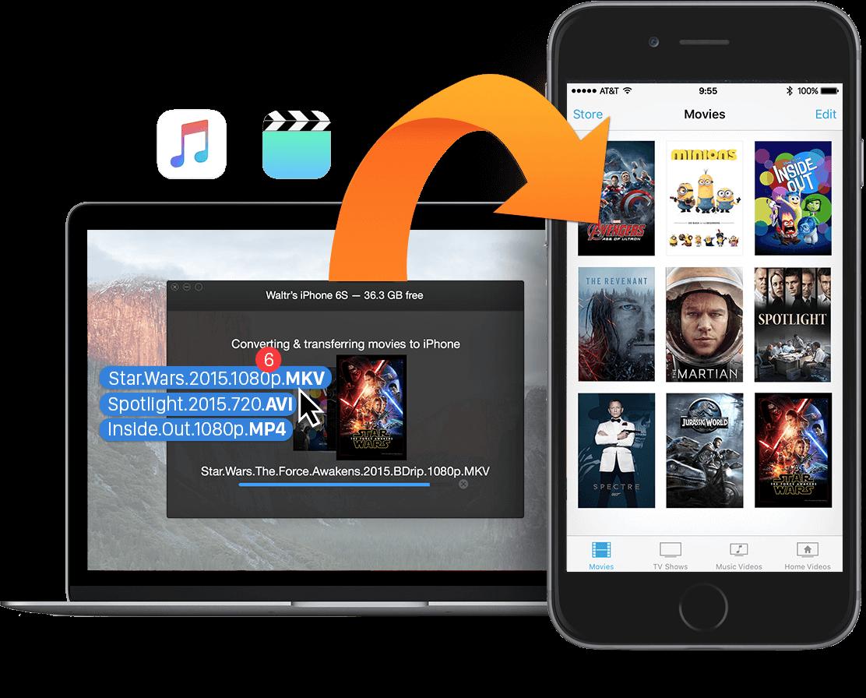 WALTR – Direct-to-iPhone Converter Screenshot