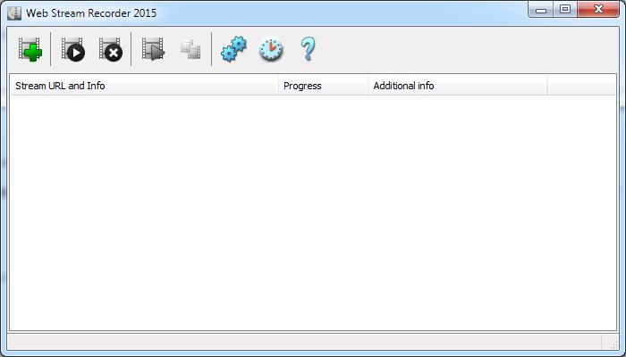 Web Stream Recorder Screenshot