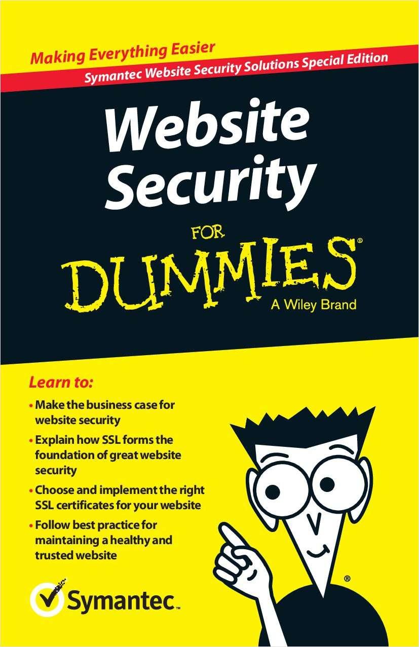 Website Security for Dummies Screenshot