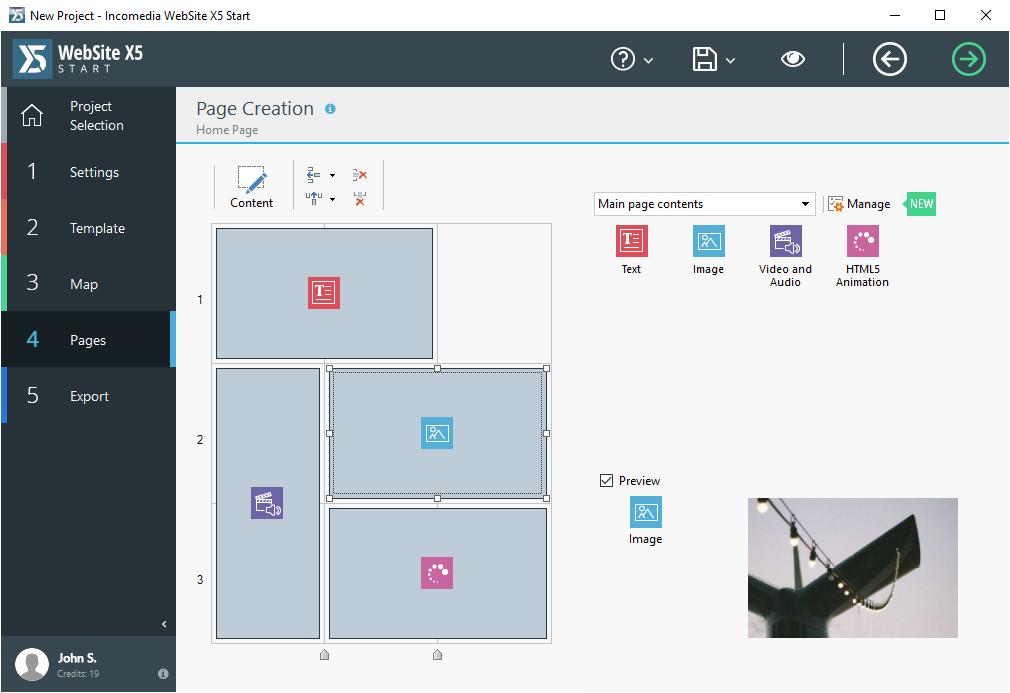 Development Software, Website Builder Software Screenshot