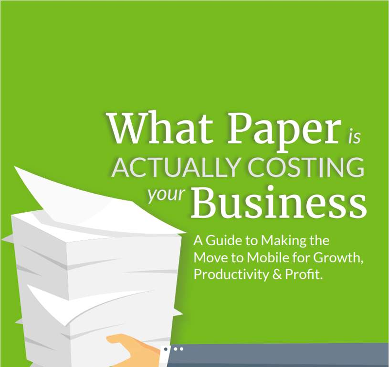 What Paper is Actually Costing Your Business Screenshot