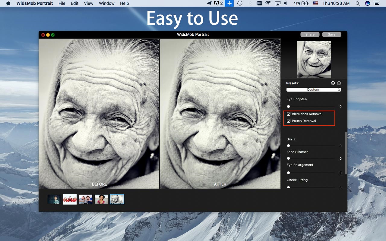 WidsMob Portrait, Design, Photo & Graphics Software Screenshot