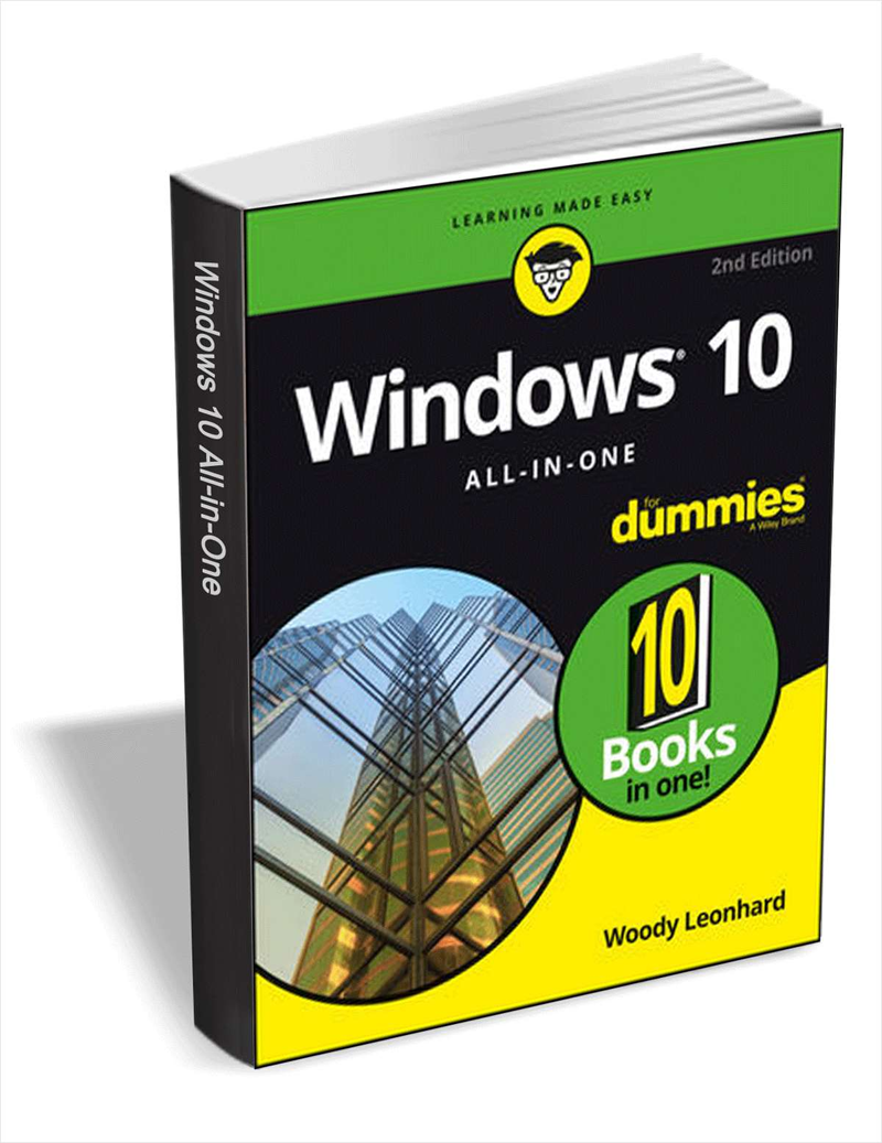 Windows 10 All-In-One For Dummies, 2nd Edition ($19 Value) FREE For a Limited Time Screenshot