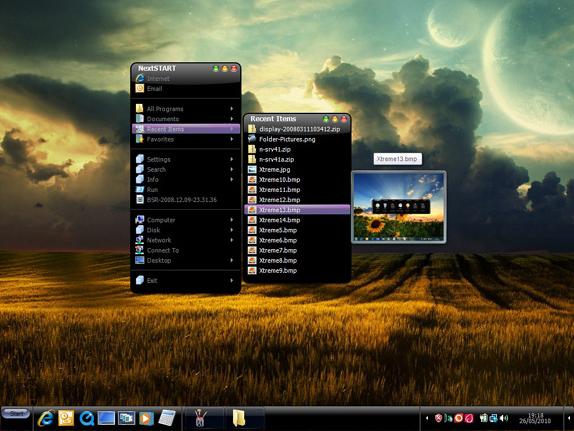 Desktop Customization Software, Desktop Enhancements Software Screenshot