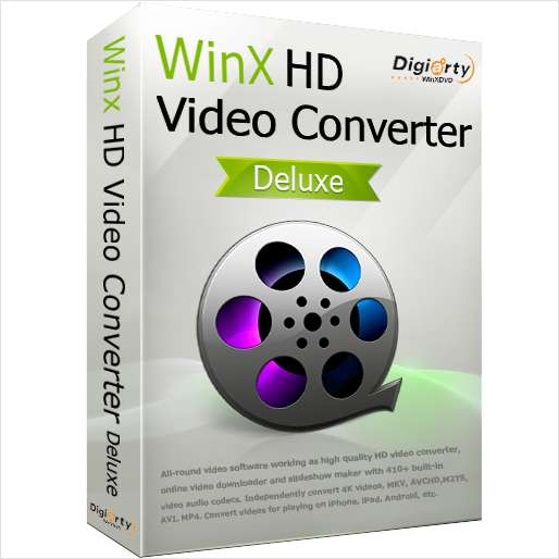 WinX HD Video Converter Deluxe (Valued at $35.95) Free for a Limited Time Screenshot