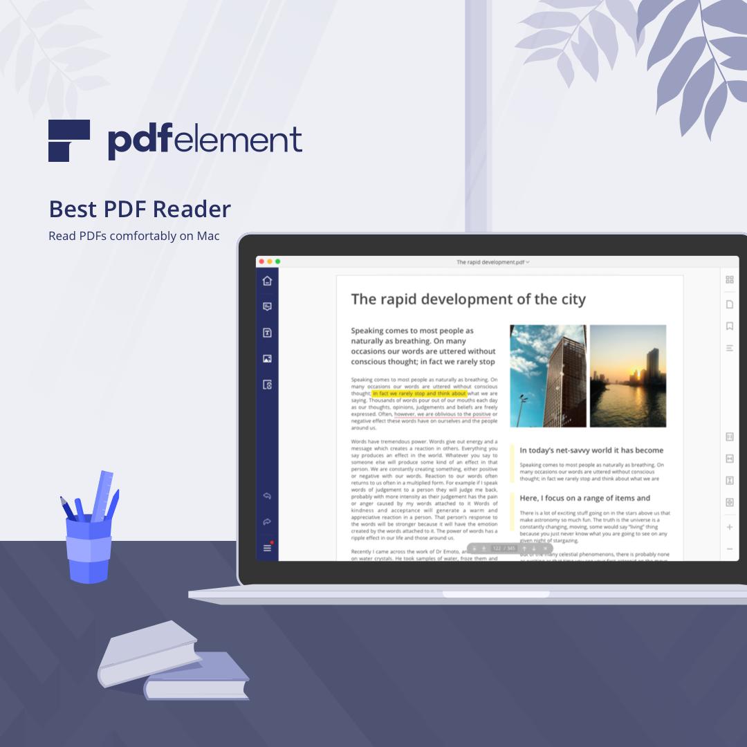 Wondershare PDFelement Express for Mac Screenshot