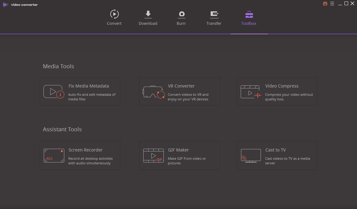 Video Converter Software, Wondershare Video Converter Ultimate Screenshot