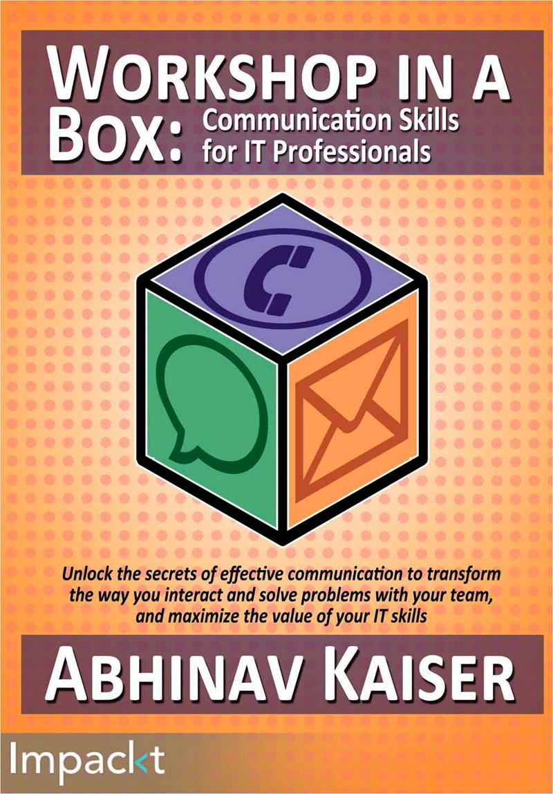 Workshop in a Box: Communication Skills for IT Professionals (Valued at $19.99) Screenshot