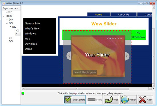WOW Slider Unlimited Website License Screenshot 13